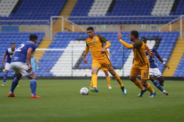 Balogun Happy To Get More Playing Time At Brighton
