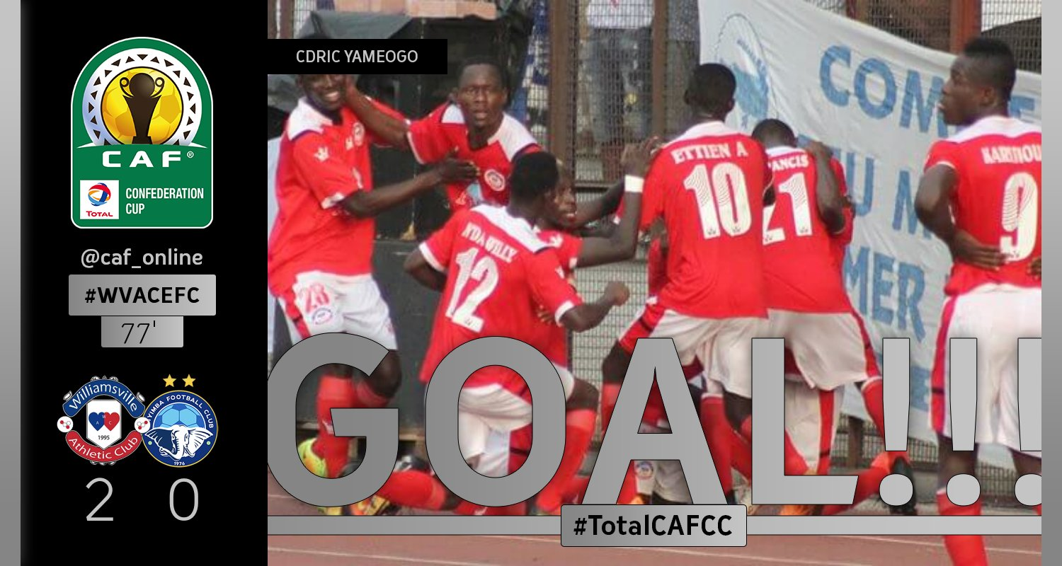 CAFCC: Enyimba Lose At Williamsville, Now 3rd In Group C