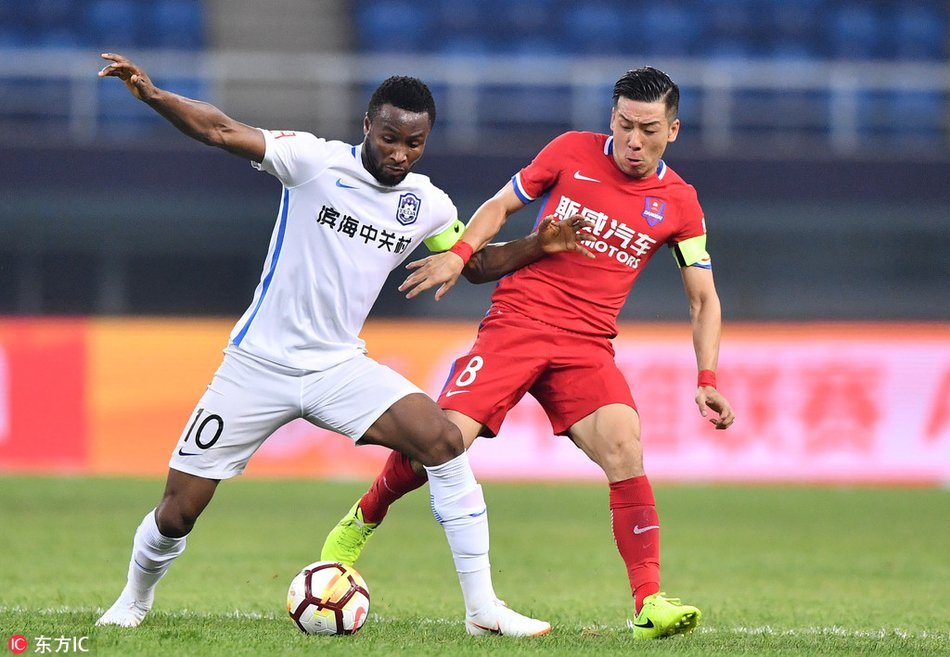 Mikel Hit With Fresh Injury Fear At Tianjin Teda