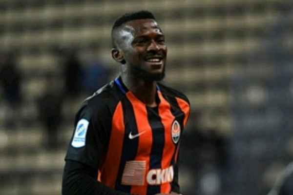Kayode Resumes Training With Shakhtar After Injury-Induced Layoff