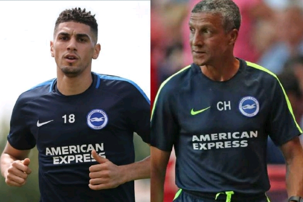 Brighton Boss, Hughton Pleased With Balogun's Debut, Experience And Good English