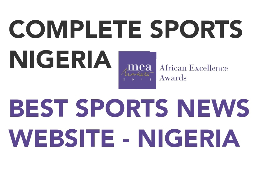 Complete Sports Wins MEA Award  For The Best Sports News Website In Nigeria