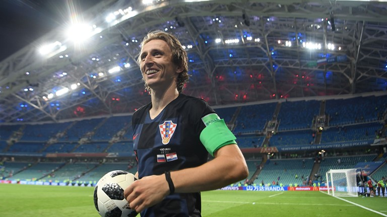 Modric Bags MOTM Award In Croatia's Win Over Russia
