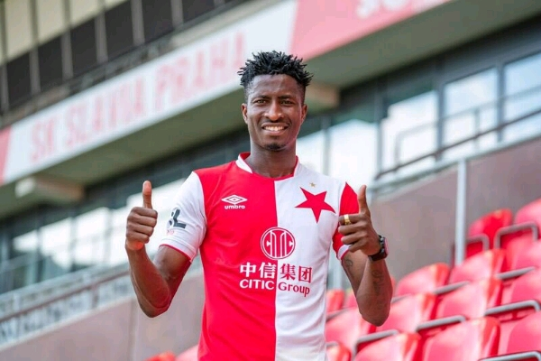 Nigerian Forward Olayinka Joins Czech Club Slavia Prague From Gent On Four-Year Contract
