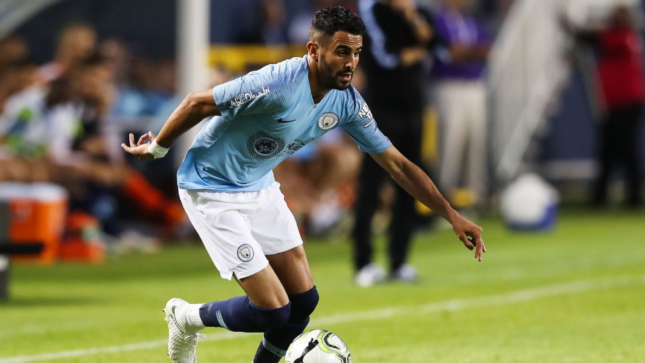 Mahrez Debuts In Man City Defeat To Dortmund