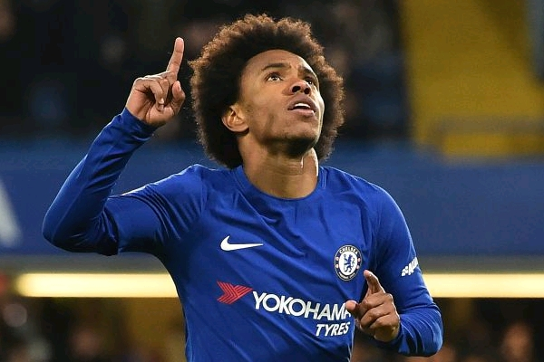 Willian Rules Out Chelsea Exit Amid Madrid, Barca Interest Rumours