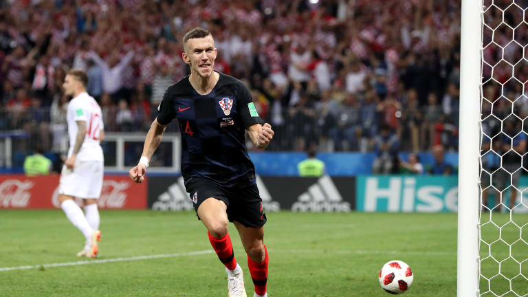 Perisic Bags MOTM Award In Croatia's W/Cup Semi-Final Win Vs England