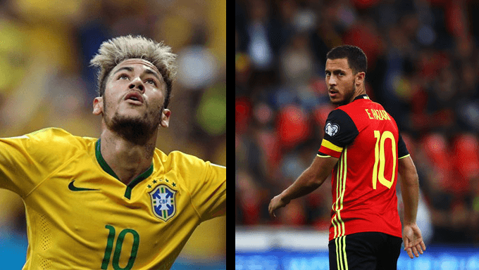 World Cup 2018: Brazil and Belgium Meet In Mouth-Watering Quarter-Final Clash