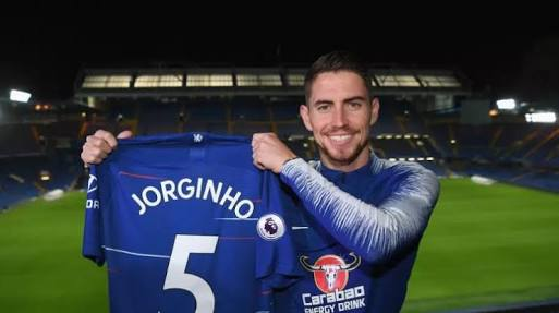 Chelsea Sign Jorginho From Napoli On A Five-Year Deal