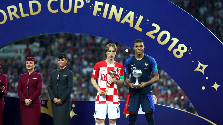 Russia 2018 Awards: Modric Named MVP, Kane Wins Golden Boot, Courtois Bags Golden Glove