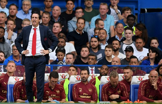 Emery Admits Arsenal's Costly Mistakes In Defeat To Chelsea