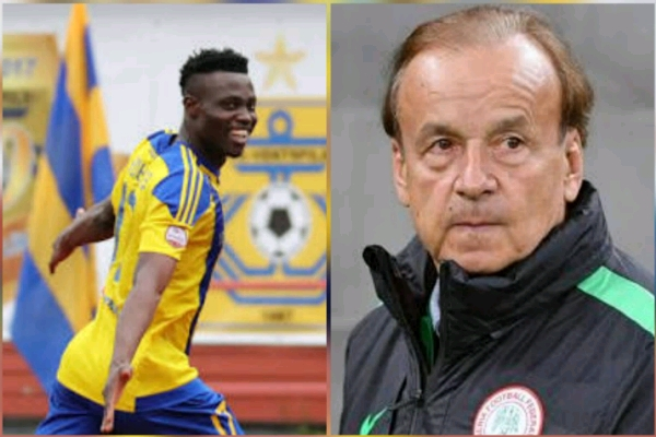 AFCON 2019 Qualifiers: Rohr Set To Give Akinyemi Eagles Debut Vs Seychelles