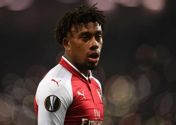 Iwobi Is Arsenal's 4th Fastest Player