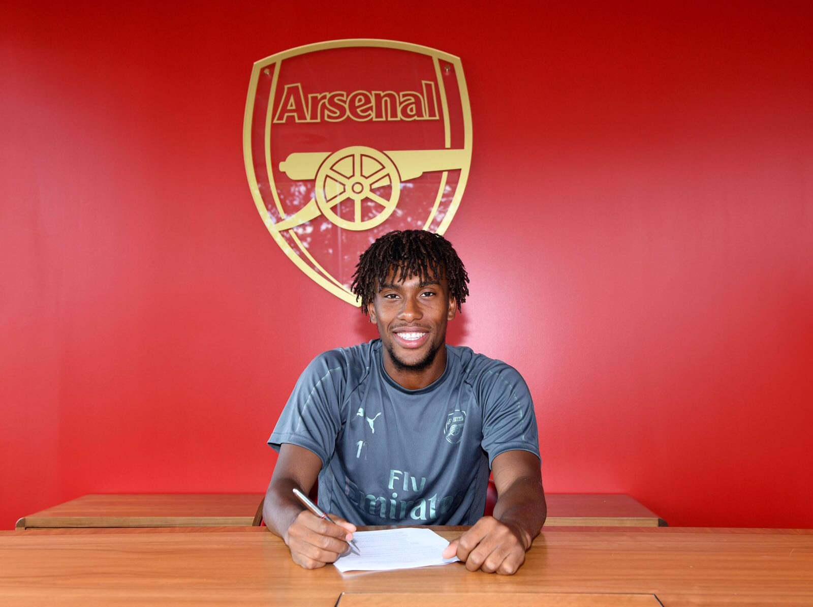 Iwobi Pleased To Extend My Contract With Special Club Arsenal