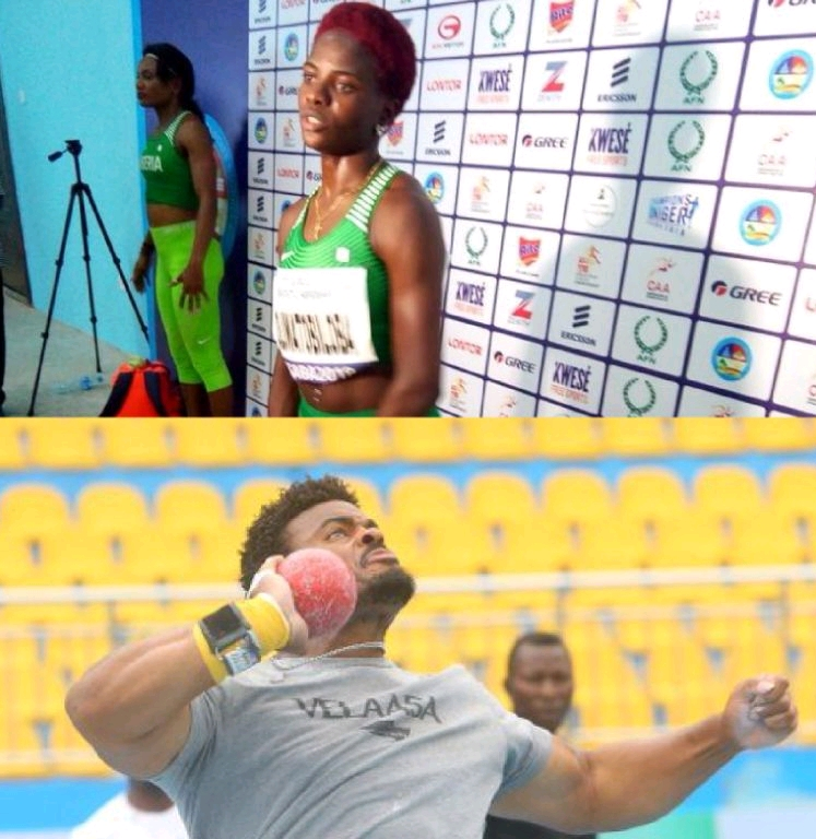 African Athletics Championship: Amusan, Enekwechi Win Gold For Nigeria On Day-2
