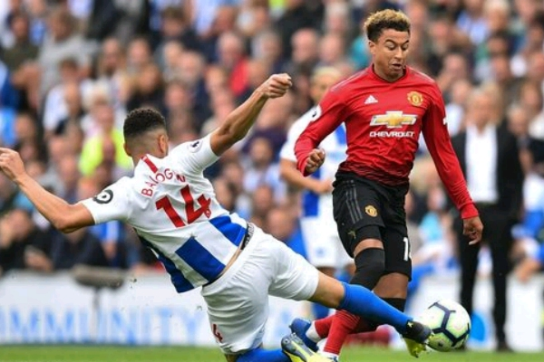 Balogun Stars As Brighton Stun  Man United To Bag Home Win