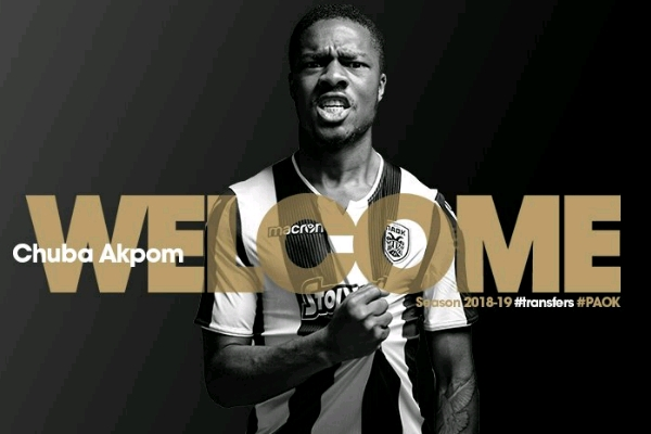 Akpom Finally Dumps Arsenal, Joins Greek Club PAOK On Three- Year Deal