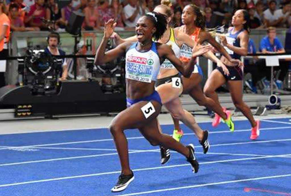 Asher-Smith Setting Sights On Olympics
