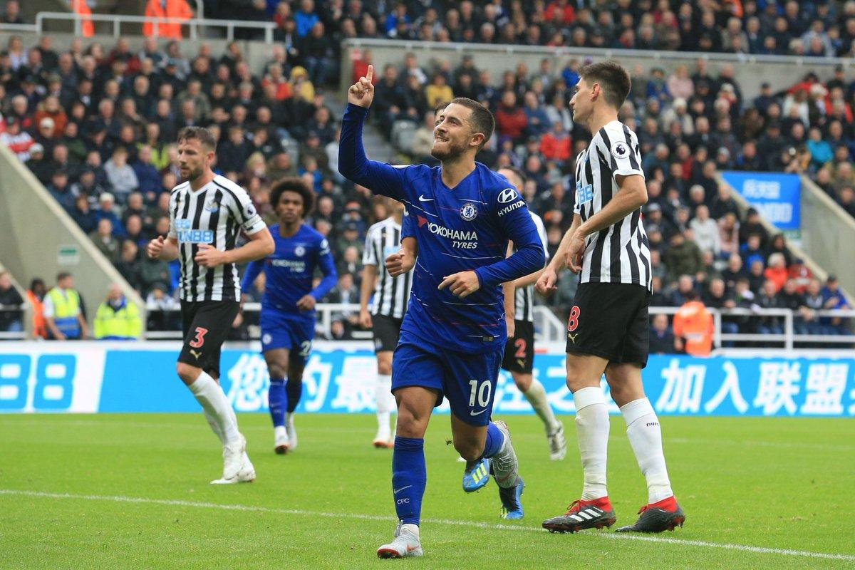 Moses Absent As Hazard's Goal, Yedlin Own-Goal Help Chelsea  Pip Newcastle