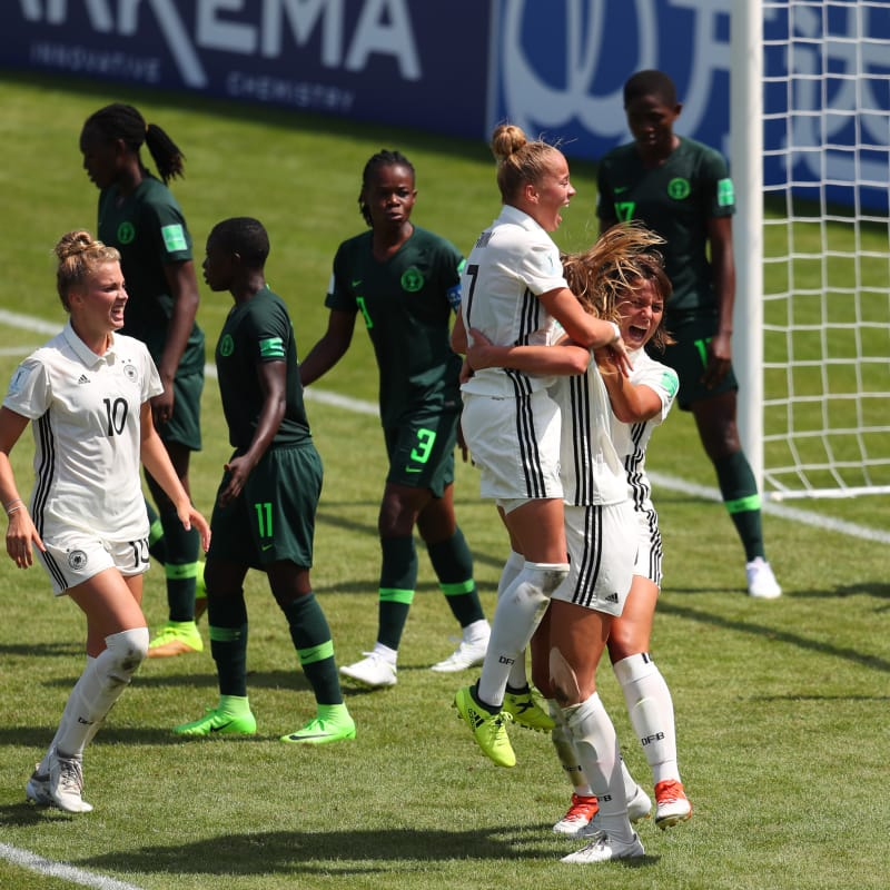 FIFA WWC: Germany Pip Unlucky Nigerian Falconets 1-0 In Group C Opener