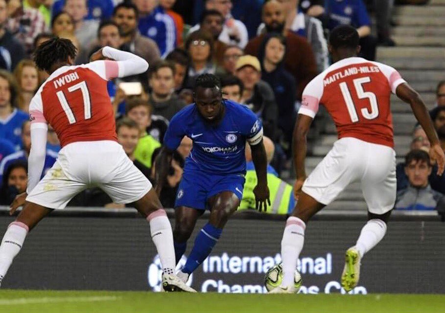 Moses Rues Chelsea's ICC Defeat To Arsenal, Focuses On  Community Shield Clash Vs Man City