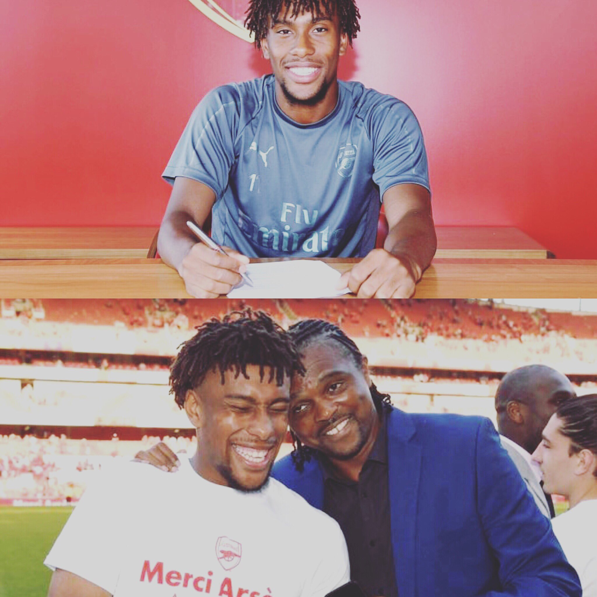 Kanu Congratulates Iwobi On Arsenal Contract Extension