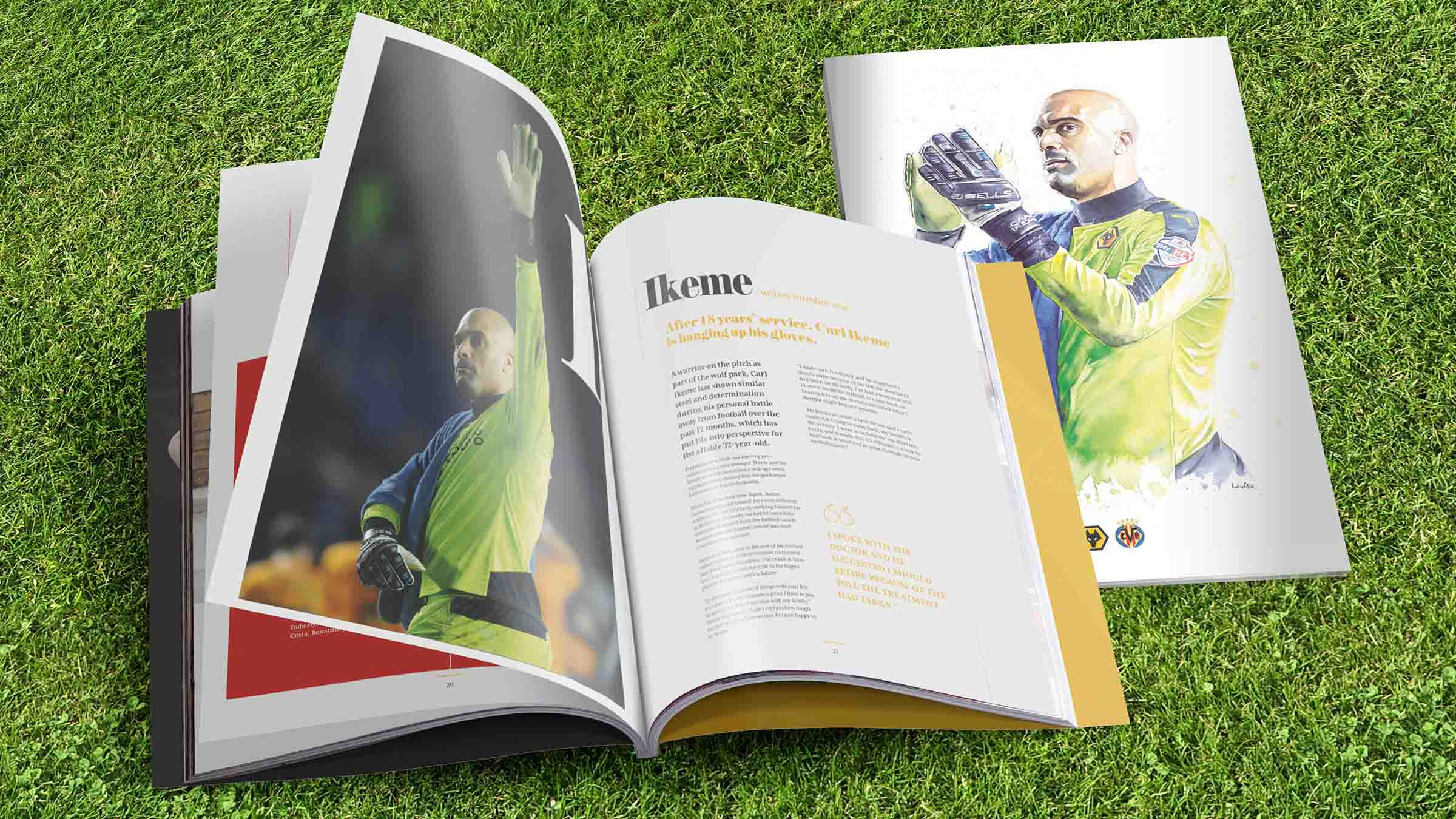 Ikeme Painting Fronts Wolves' Programme For Villarreal Visit
