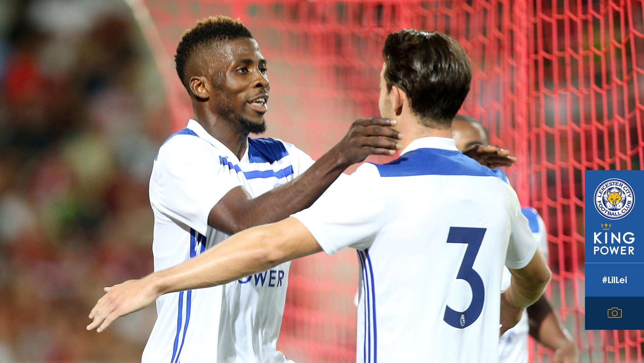 Iheanacho Makes It 4 Goals In 3 Games With Brace As Leicester Win At Lille