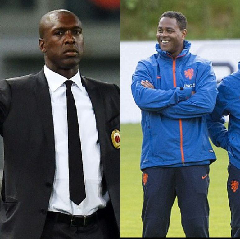 Cameroon Hire Ex-Holland Internationals Seedorf, Kluivert As Head, Assistant Coach