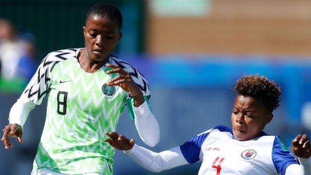 Ajibade Savours Falconets' First Win At 2018 U-20 Women's World Cup Vs Haiti