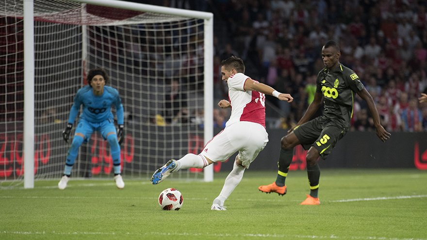 UCL Qualifying: Agbo In Action As Standard Liege Lose At Ajax, Crash Out