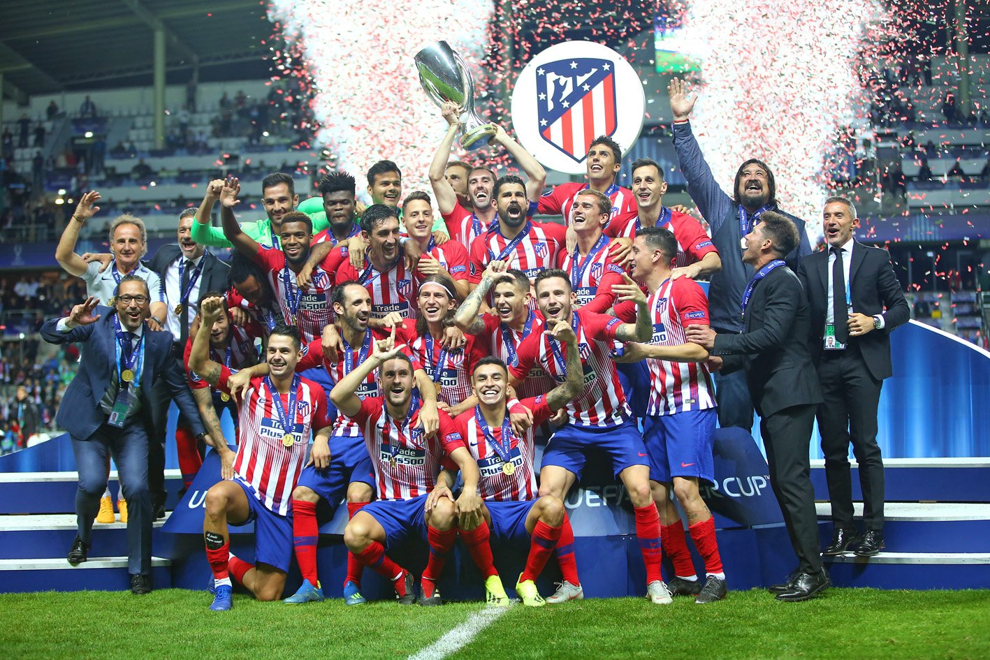 Atletico Daze Real To  Bag Historic 3rd UEFA Super Cup Title In 3rd Attempt