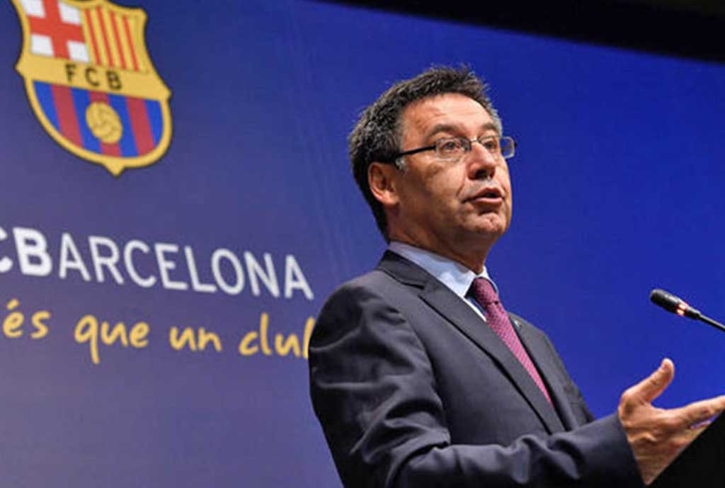 Bartomeu Satisfied With Barca Squad