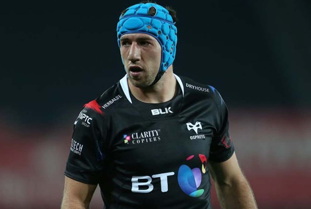 Tipuric Named New Ospreys Skipper