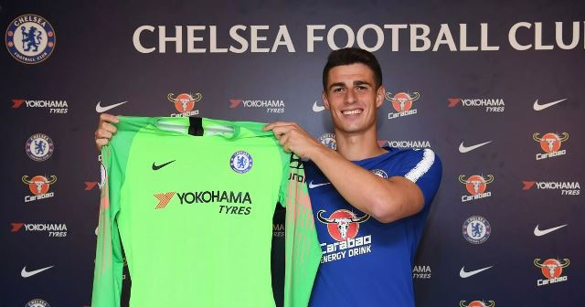 Chelsea Sign £72million Keeper Kepa