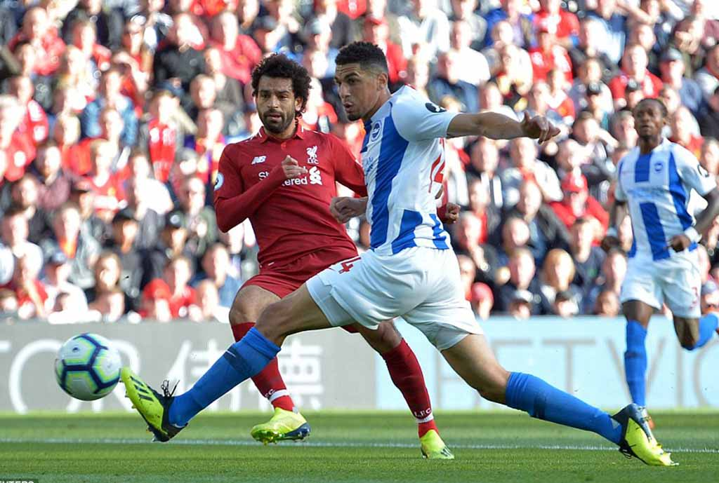 Balogun Makes First Start For Brighton In Defeat To Liverpool As Salah Nets Winner