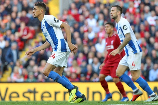 Balogun Proud Of Brighton's Showing In Defeat To Liverpool