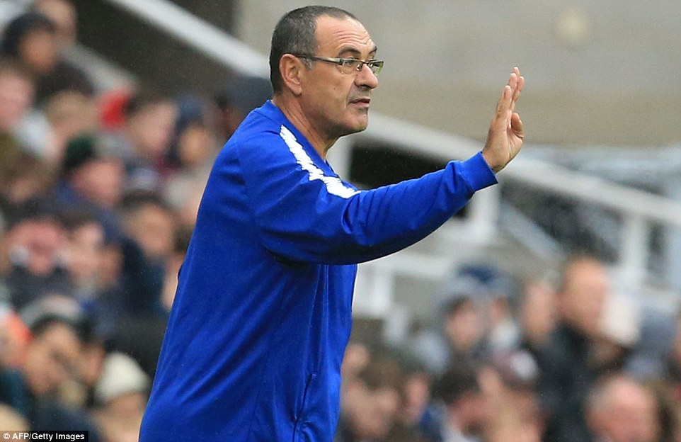 Sarri Shocked At Newcastle's 5-Man Defence Against Chelsea