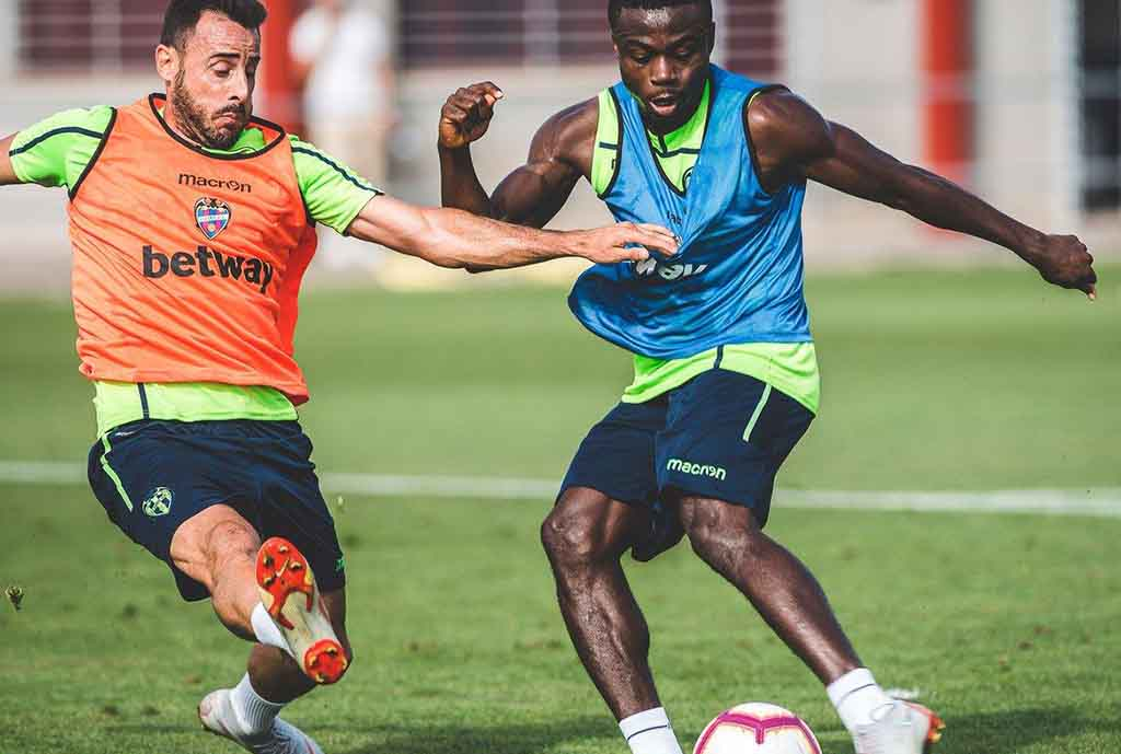 Simon Back In Training With Levante, Set For La Liga Debut Vs Valencia