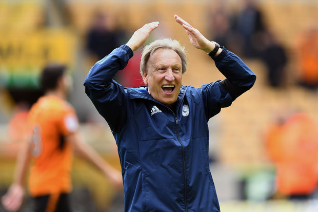 Warnock Happy With Bluebirds Squad
