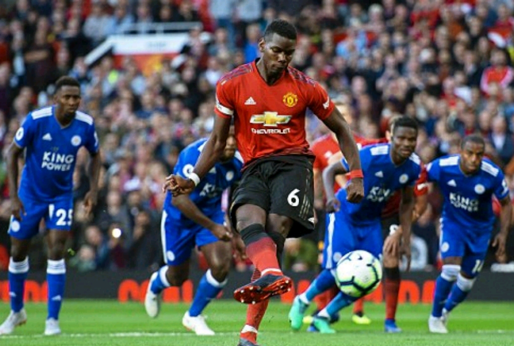 EPL Season Opener: Ndidi, Iheanacho In Full Action As Pogba, Shaw's Goals Help United Past Leicester