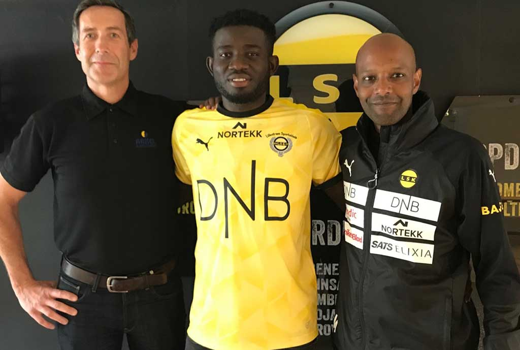 Ayagwa Joins Lillestrom On Four-Year Deal From Plateau United