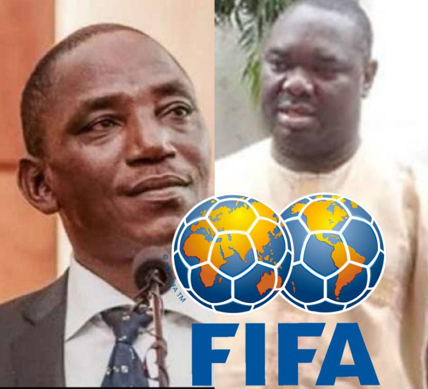 FIFA Snubs Darlung's Visit Proposal, Warns Against Bringing  Giwa To FIFA Headquarters; Insists On Monday Deadline