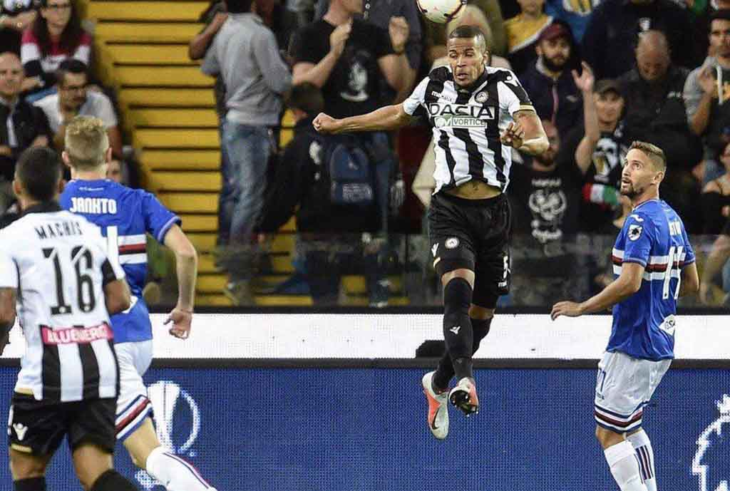 Troost-Ekong Thrilled By Udinese's First Win Of Season Vs Sampdoria