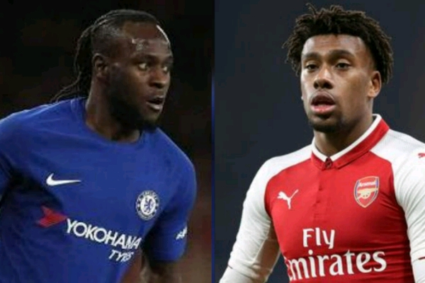 Moses, Iwobi Clash As Chelsea, Arsenal Face-Off In ICC Pre-Season Friendly