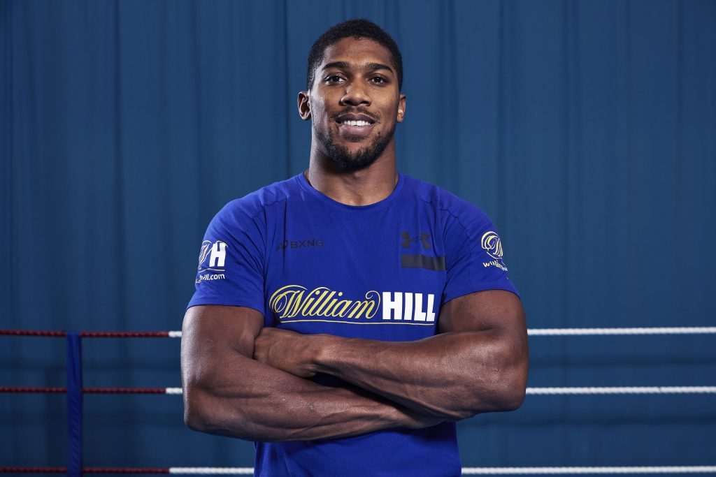 Joshua Signs One-Year Deal With Bookmaker William Hill