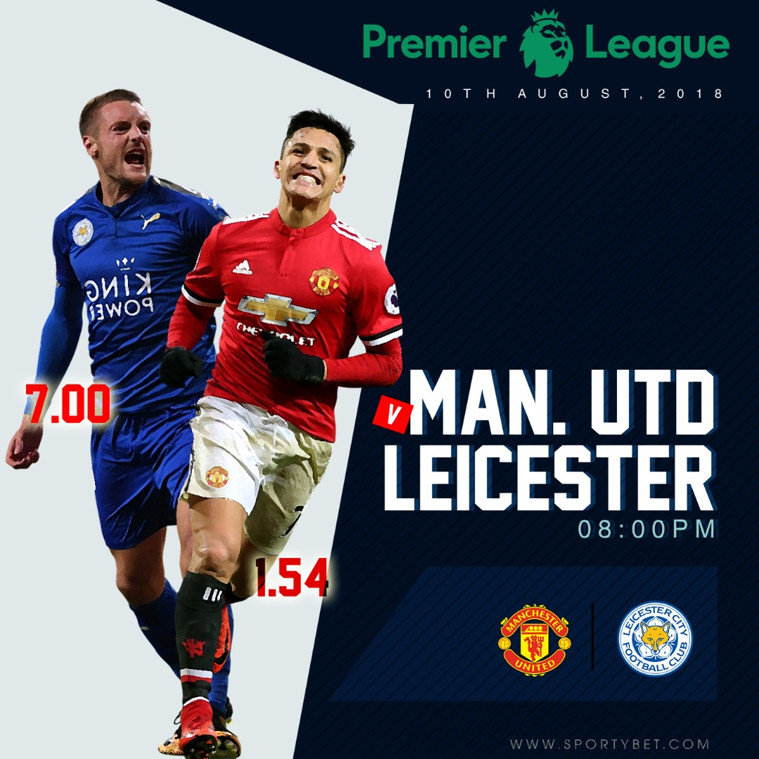 Manchester United Vs Leicester Betting Preview, And Team News Ahead Of Premier League Opener