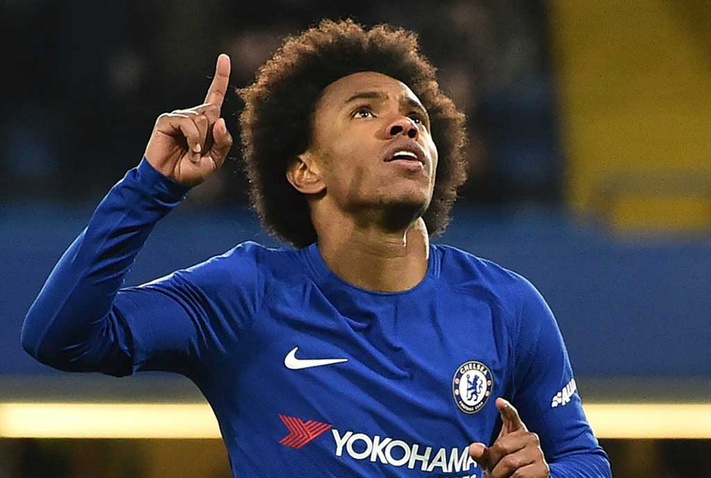 Chelsea Set To Break Club Policy And Offer Willian Two-Year Contract Extension