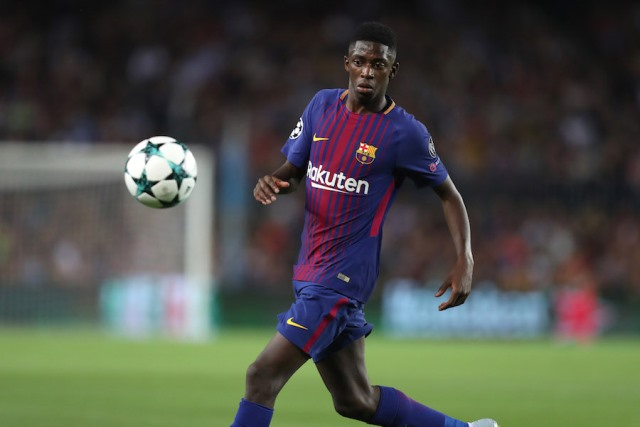 Dembele Sticking With Barca