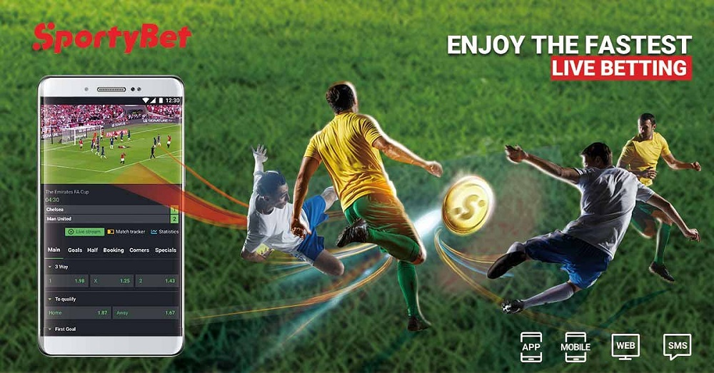 Enjoy Live Betting With SportyBet And Bet In Play On All Your Favourite Sports
